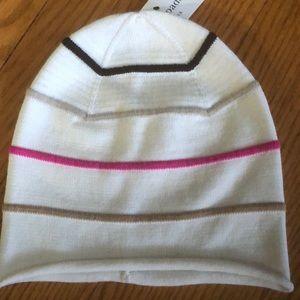 Cute striped kate spade hat, NWT